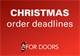 Christmas Order Deadlines