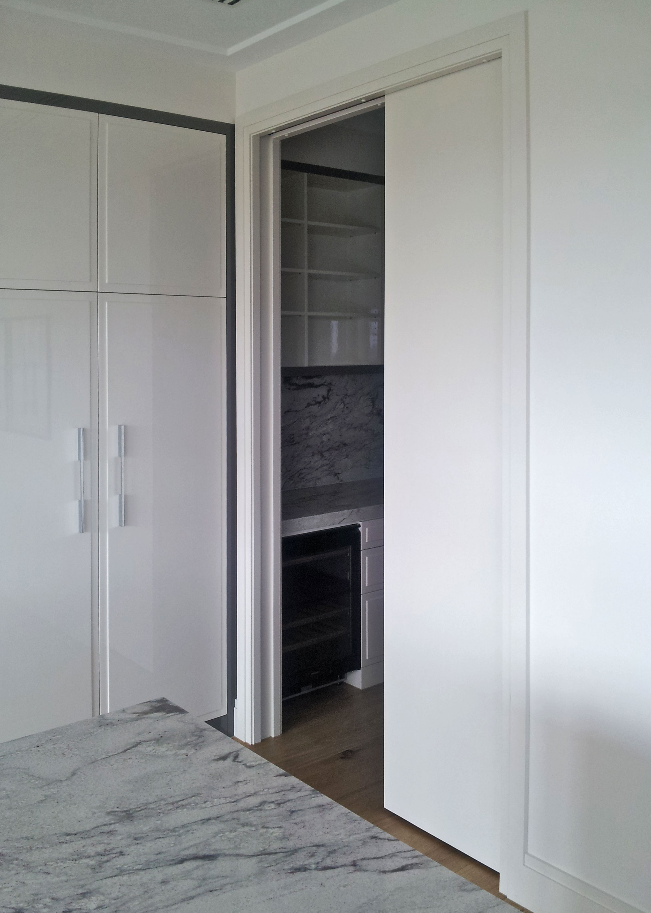 MidWay with flush timber door